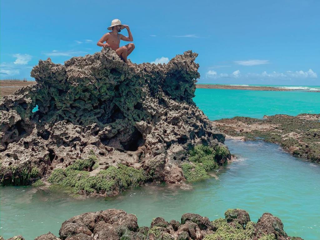 Pedra Virada - Praia de Ponta Verde