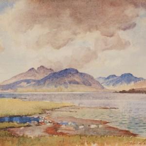 The Mountains of Ardgour - Archibald Sandeman