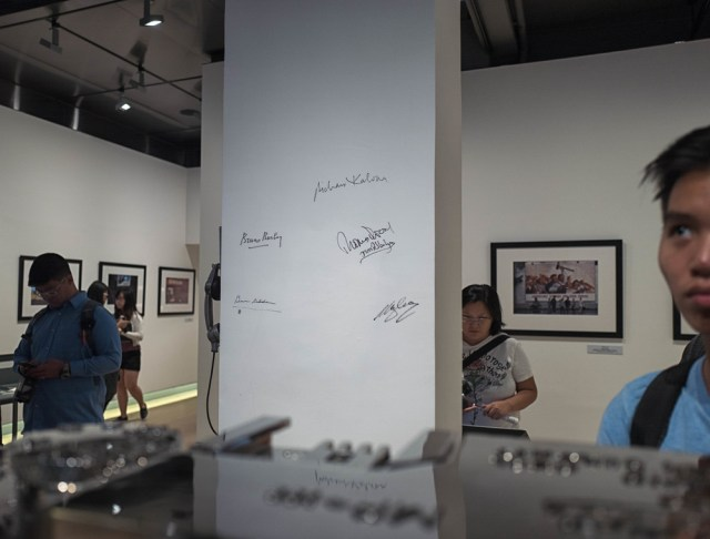At the original f11 Museum in Happy Valley (image Mike Evans)