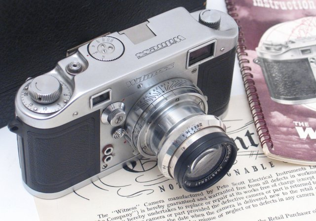 Above and below: Another superb Witness, this time with the third lens, the Dallmeyer Super Six, which was sold by London dealer  Peter Loy  (Photos © Peter Loy)