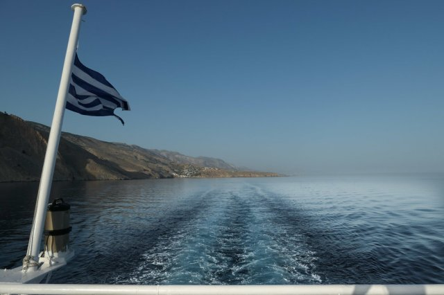 On the Daskalogiannis sailing between Sfakia and Loutro (ISO 125 1/1000th f6.3 24mm Leica C-Lux)