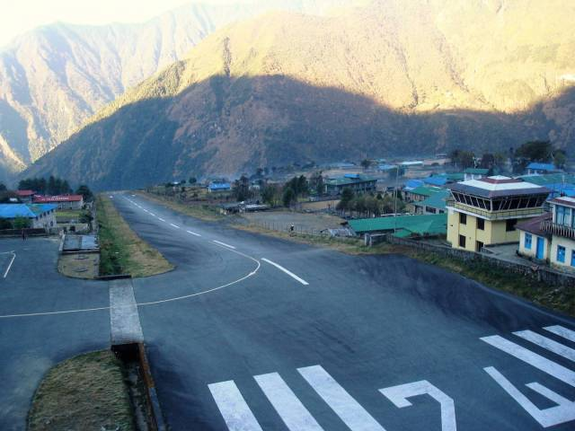 Lukla airstrip. A spectacular start to a great adventure.