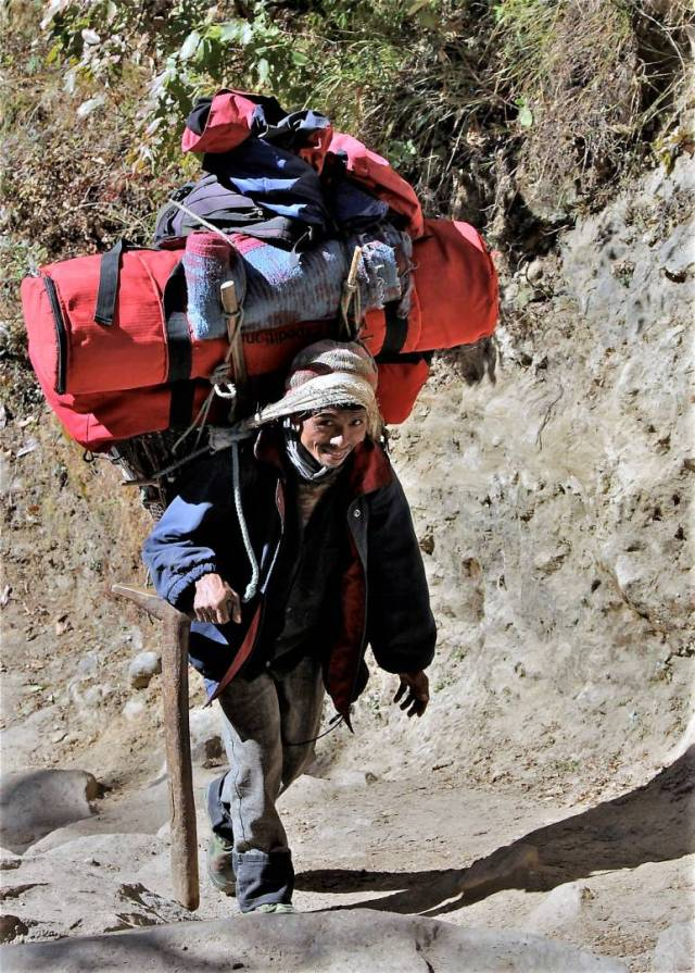 Alternatively, the porters move slower, but with sustained effort they are just as effective.