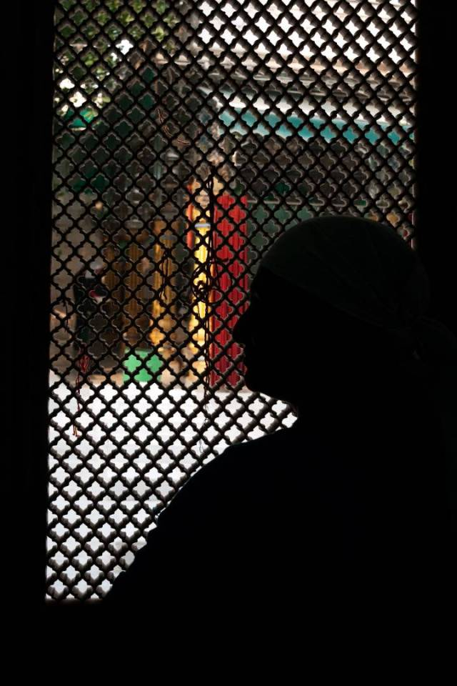 True believers of the 12th-century Sufi saint Khawaja Bakhtiyar Kaki leave threads tied to the marble screen in the dargah in the hope that their wishes will be fulfilled.