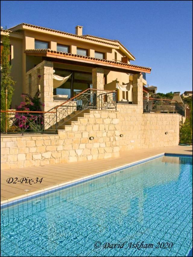 Cypriot villa in Aphrodite Hills.  (Digilux 2 1/640 sec at f/8.0)