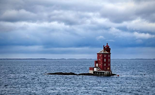 The Kjeungskjoer Lighthouse