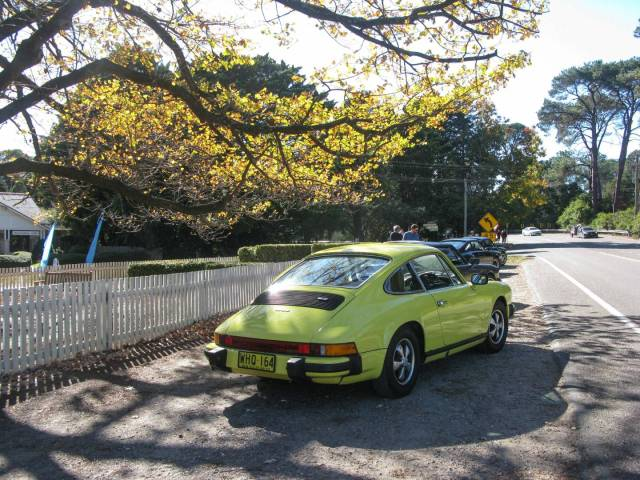 Lunch stop at Berrima, Southern Highlands, on a Porsche Club drive NSW 2012