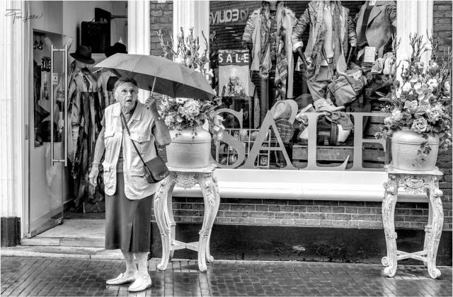 """""""Mary Poppins"""" taken in Holland on a Forum visit (Leica Monochrom with Noctilux f0.9 lens)"""