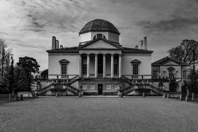 "Chiswick House, the ""country retreat"" of the Earls of Burlington and, later, the Dukes of Devonshire who, if they fancied a longer drive, also had the magnificent Chatsworth at their disposal."