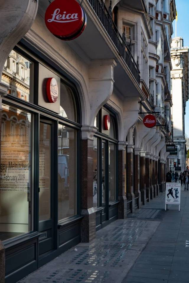 Leica's Duke Street store is one of the several outlets that will re-open for business next Monday, June 15 (Image Mike Evans)