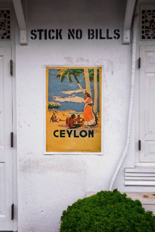 """""""Ceylon (Mount Lavina Beach), 1948"""", by C. K. L. Samarasinha"""