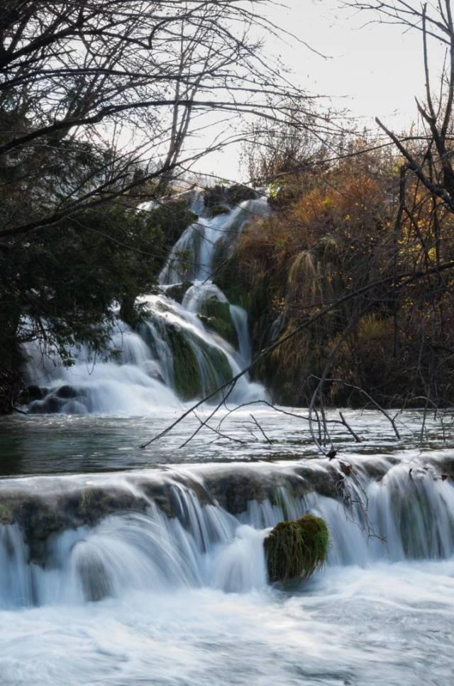 The Milke Trnine waterfalls