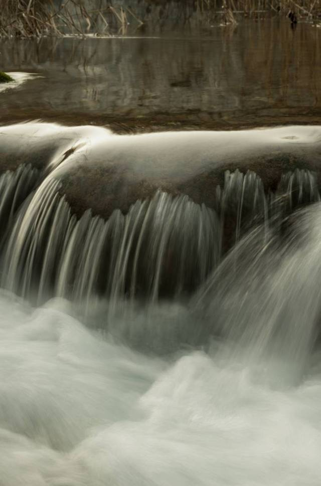 The Milke Trnine waterfalls, detail