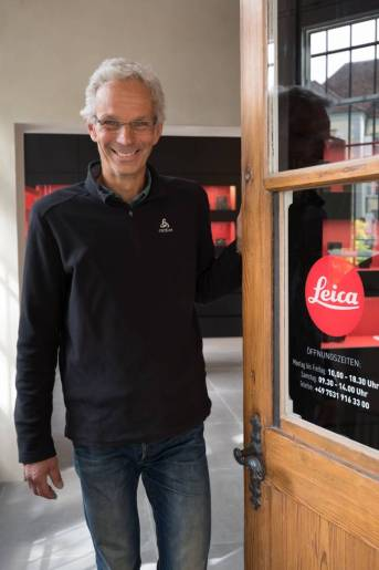 I always found an open door at Leica Store Konstanz for my research—literally or figuratively. Owner Markus Wintersig and his team both in the Leica Store and Lichtblick Fotofachgeschäft helped out with the odd other loan or two and, of course, ever-helpful advice.