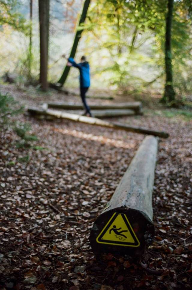 Take care. In the woods near Constance. BessaR4M, Voigtländer Nokton 35/1.4 II MC. Kodak ProImage100.