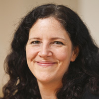 Profile portrait of Laura Poitras