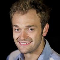 Profile portrait of Chris Thile