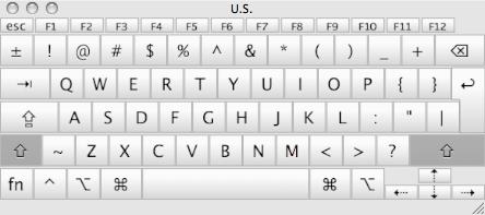Mac Keyboard Layout Exterior Memory