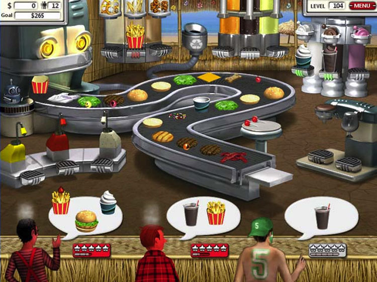 Burger Restaurant Games 3