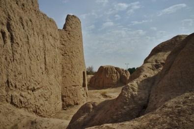 Kashan: Die alten Stadtmauern zeugen vom Alter der Stadt