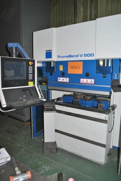 Pressa piegatrice Trumpf TrumaBend V500 usata in vendita