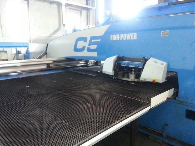 punzonatrice Finn-Power C5-compact-express usata in vendita