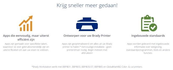 Brady Workstation app software