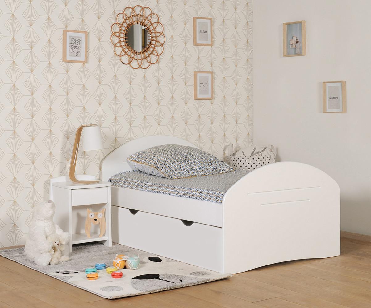 lit enfant evolutif avec matelas spoom
