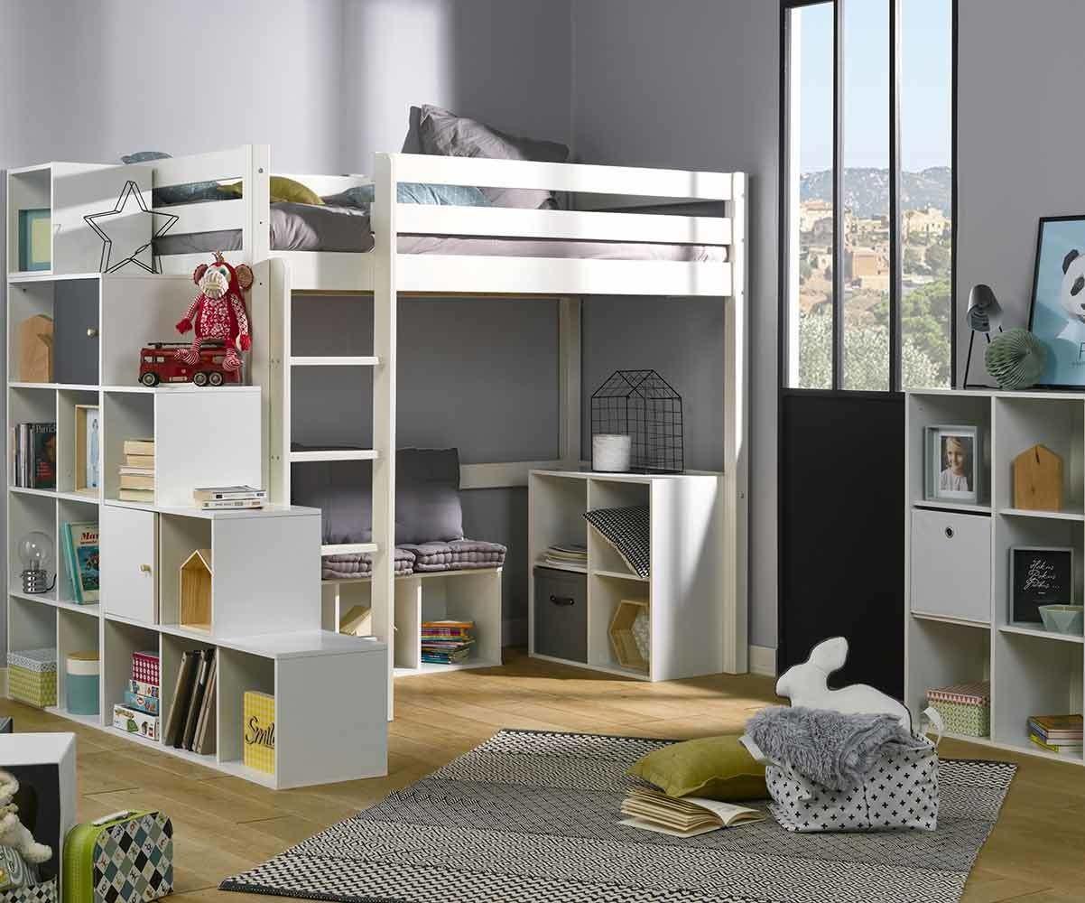 meuble de rangement 4 cases moov