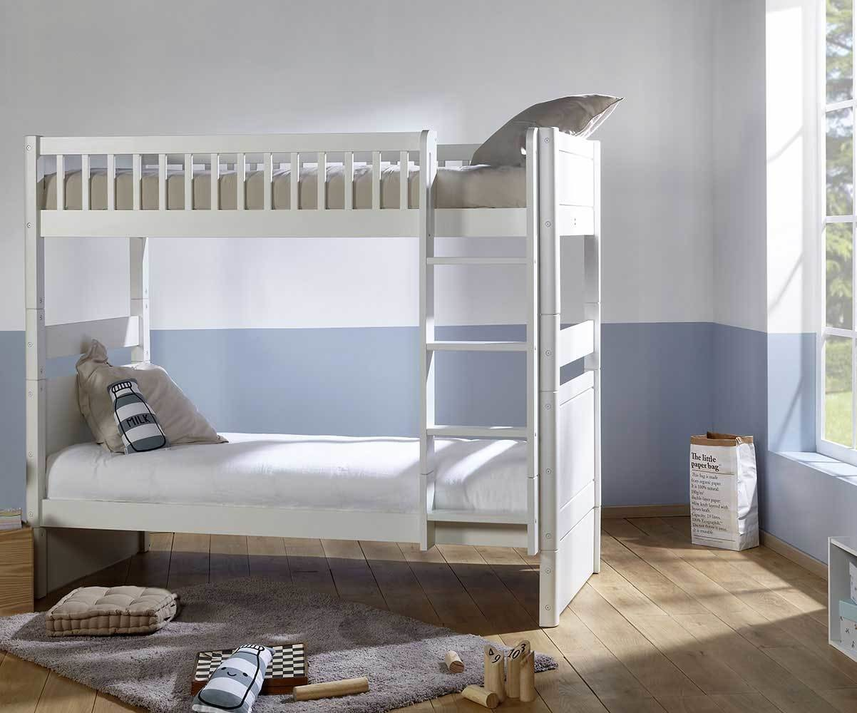 lit enfant superpose evolutif couchage haut avec 2 matelas rio