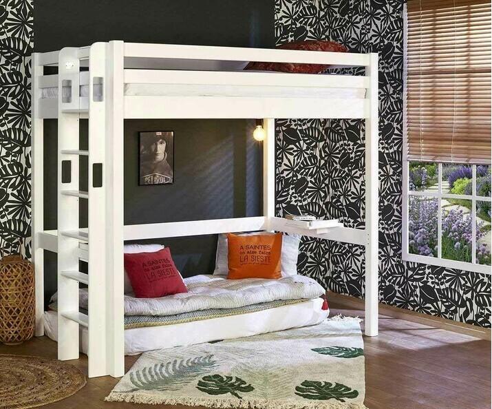 lit mezzanine ado avec bureau fynn