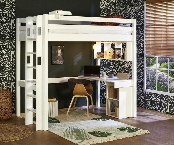 Lit Mezzanine Adulte 2 Places Fynn Confortable