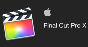 Final Cut Pro X v10.4