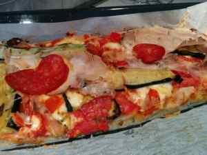 pizza focaccia soffice e alta in teglia