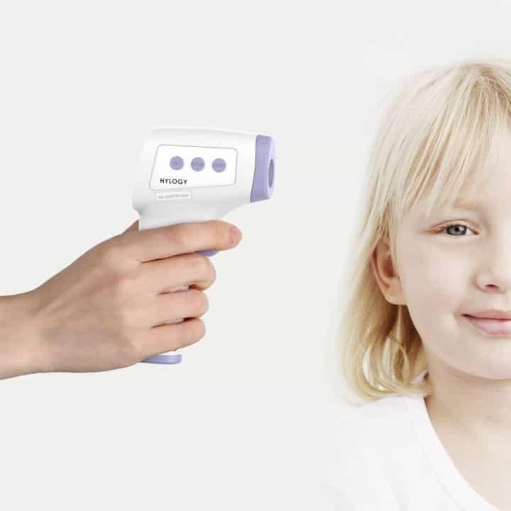 Termometro Infrarossi Neonati Adulti Frebbe biberon pappe