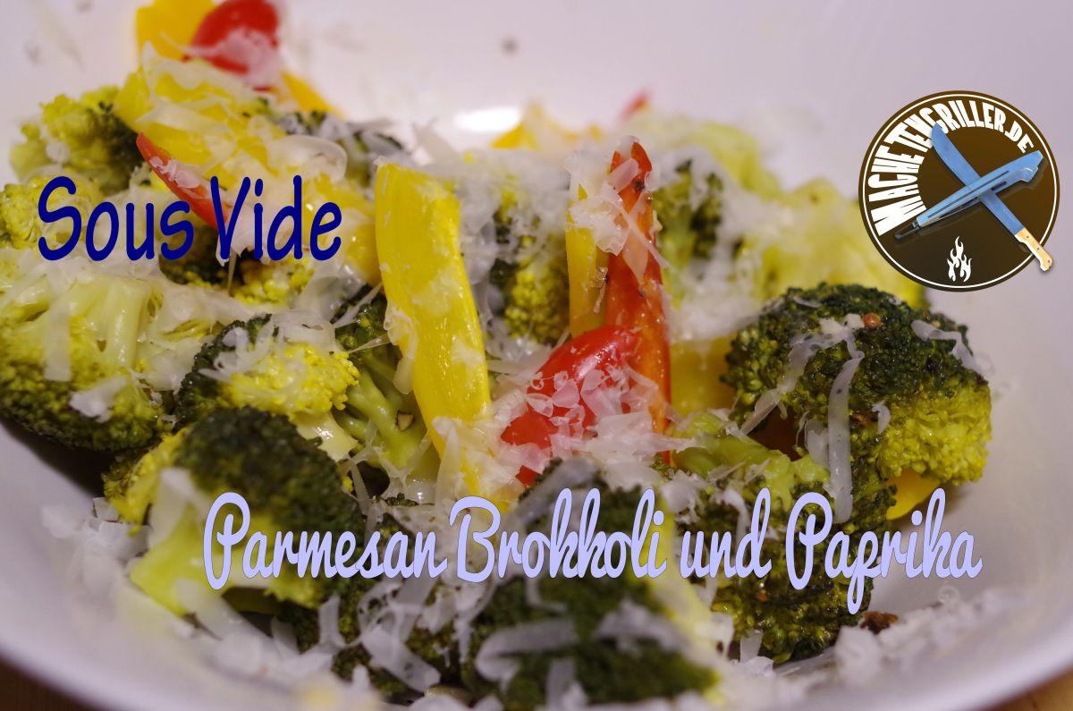 Parmesan Brokkoli mit Paprika Sous Vide