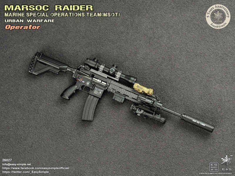 Figurine 1 6 Marsoc Raider Marine Special Operations Team