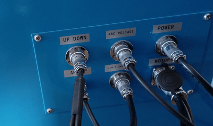 Plasma Cutting Machine Wire Connection