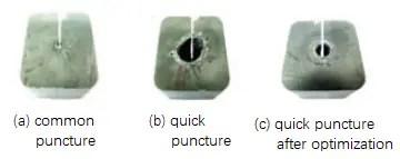Perforation way