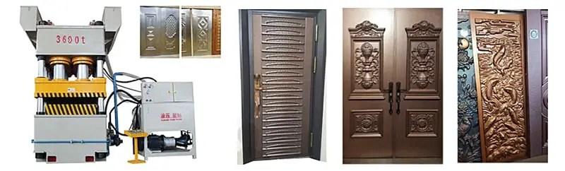 Steel Door Embossing Machine