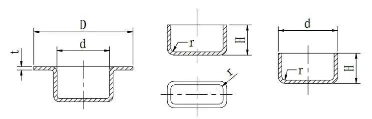 Figure 1-50 Sheet metal stretching design