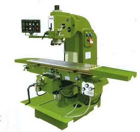 Universal Lifting Platform Milling Machine
