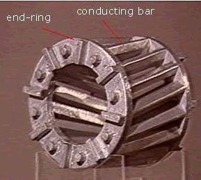 rotor of an AC motor