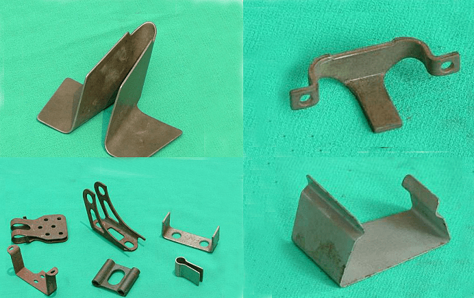 Forming bent parts with a mold-2