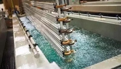 Domestic factory live plating processing