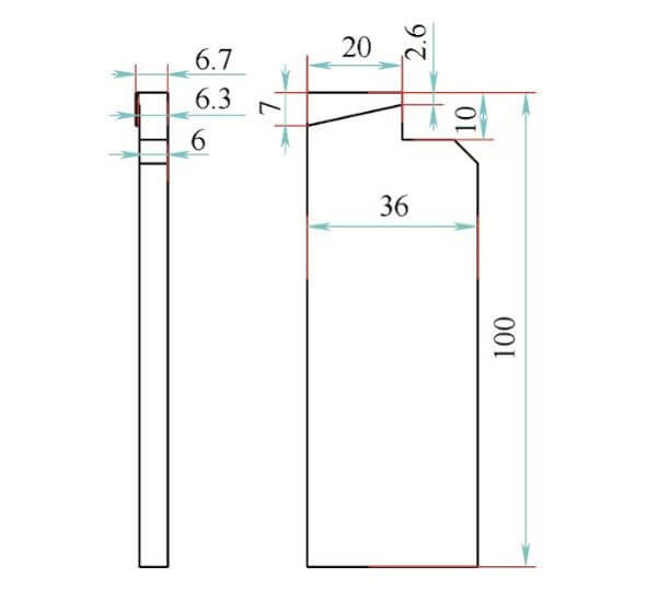 Left Angle Steel Positioning Tooling