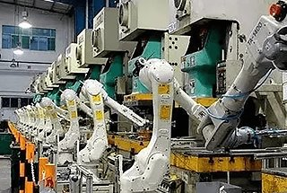Components Of a Robotic Press Automation Line