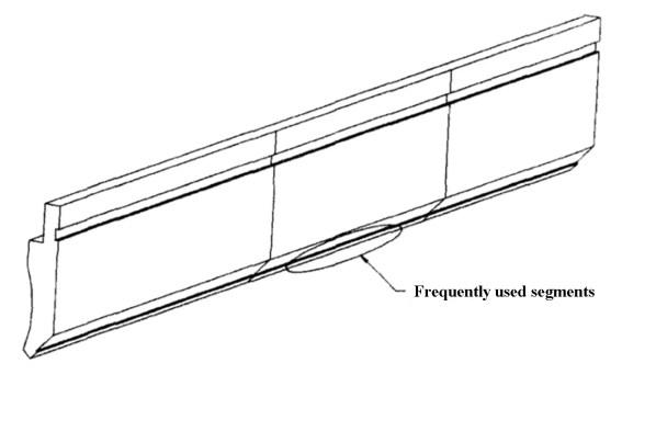 Fig. 3 Bending upper die