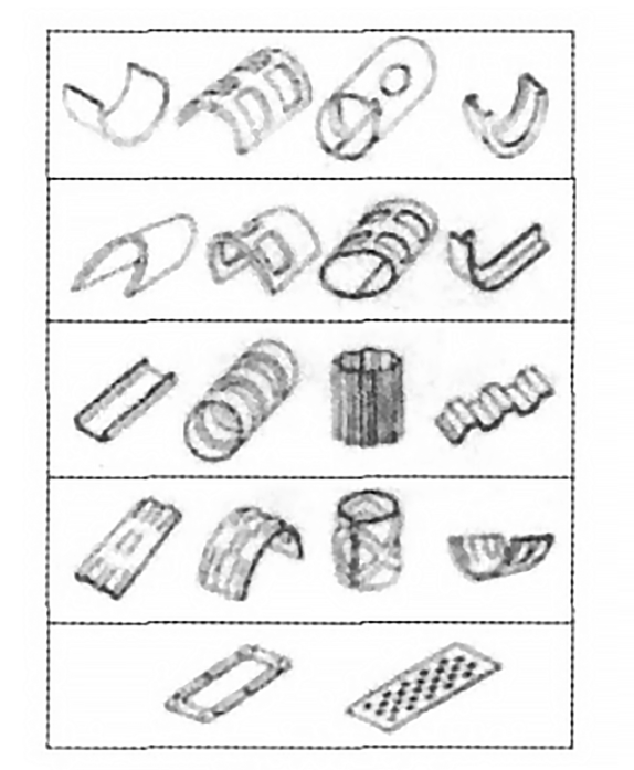 Fig. 7 Thin wall parts manufactured by RESM technology
