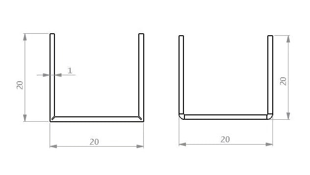Calculation of the difference between the unfolded length of grooved bending and non-grooved bending